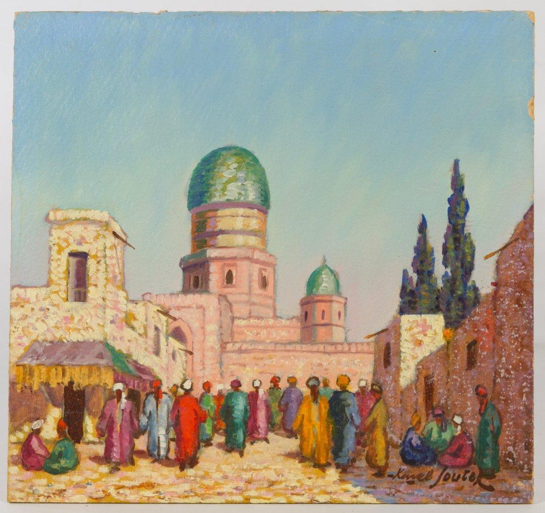 Karel Soucek (Czech, 1915-1982) 'Bucharska Mesita' Oil