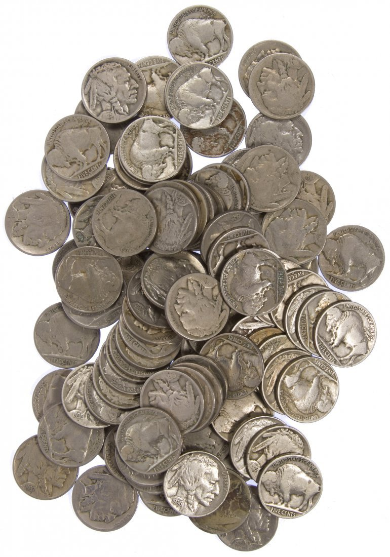 Buffalo Nickel 5c Assortment