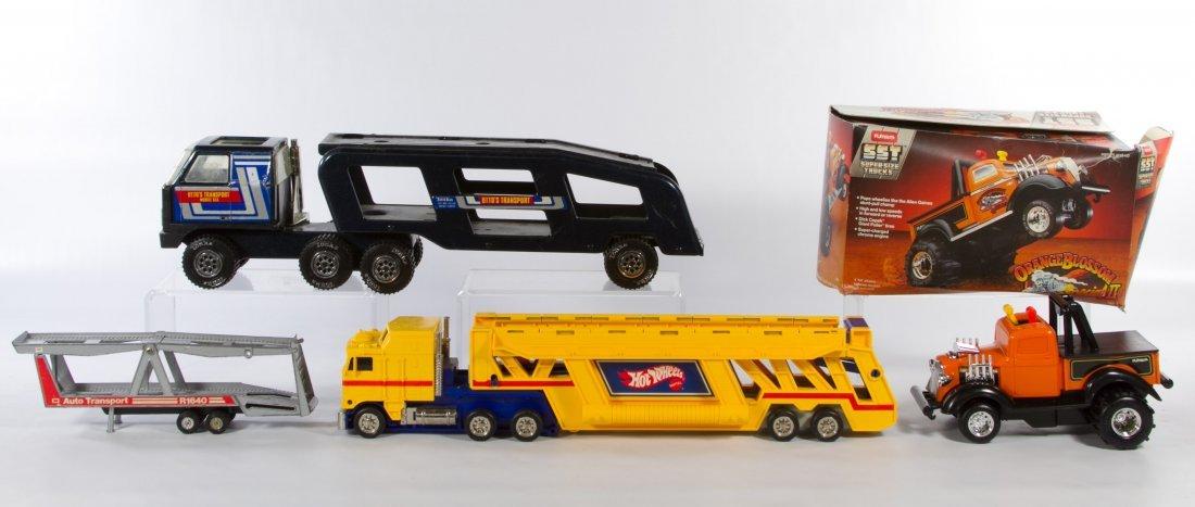 Tonka, Mattel and Playskool Truck Assortment