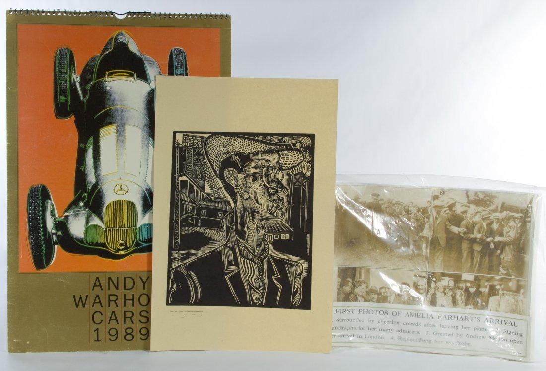 Andy Warhol 'Cars 1989' Calendar