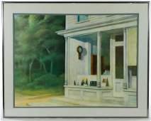 Edward Hopper American 18821967 Seven AM Print