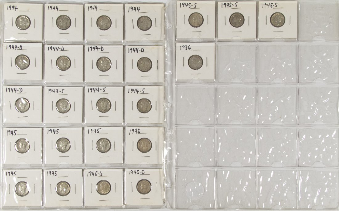 Mercury 10c Assortment - 5