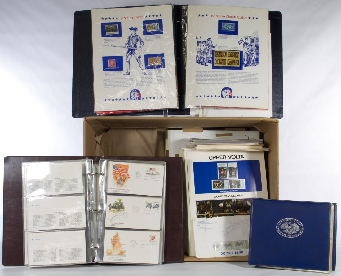US and World First Day Covers