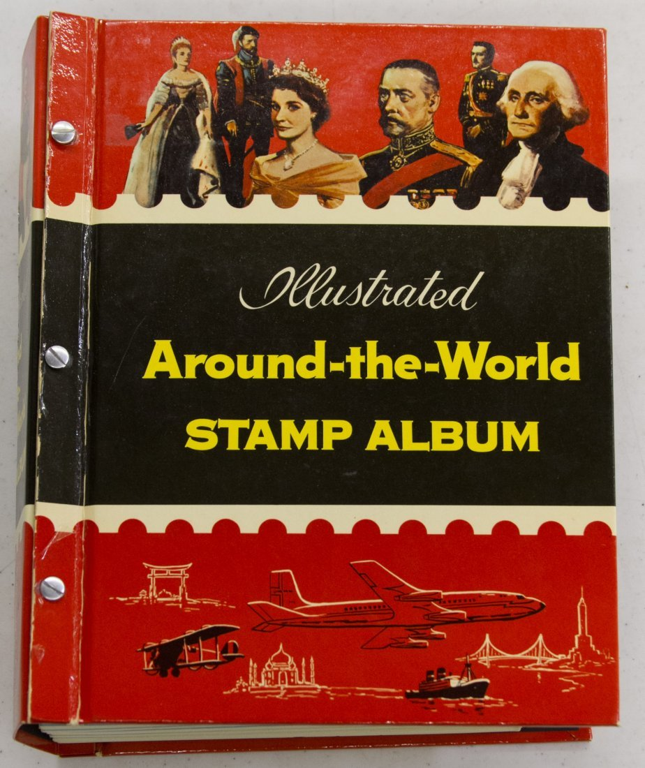 World Stamp Album