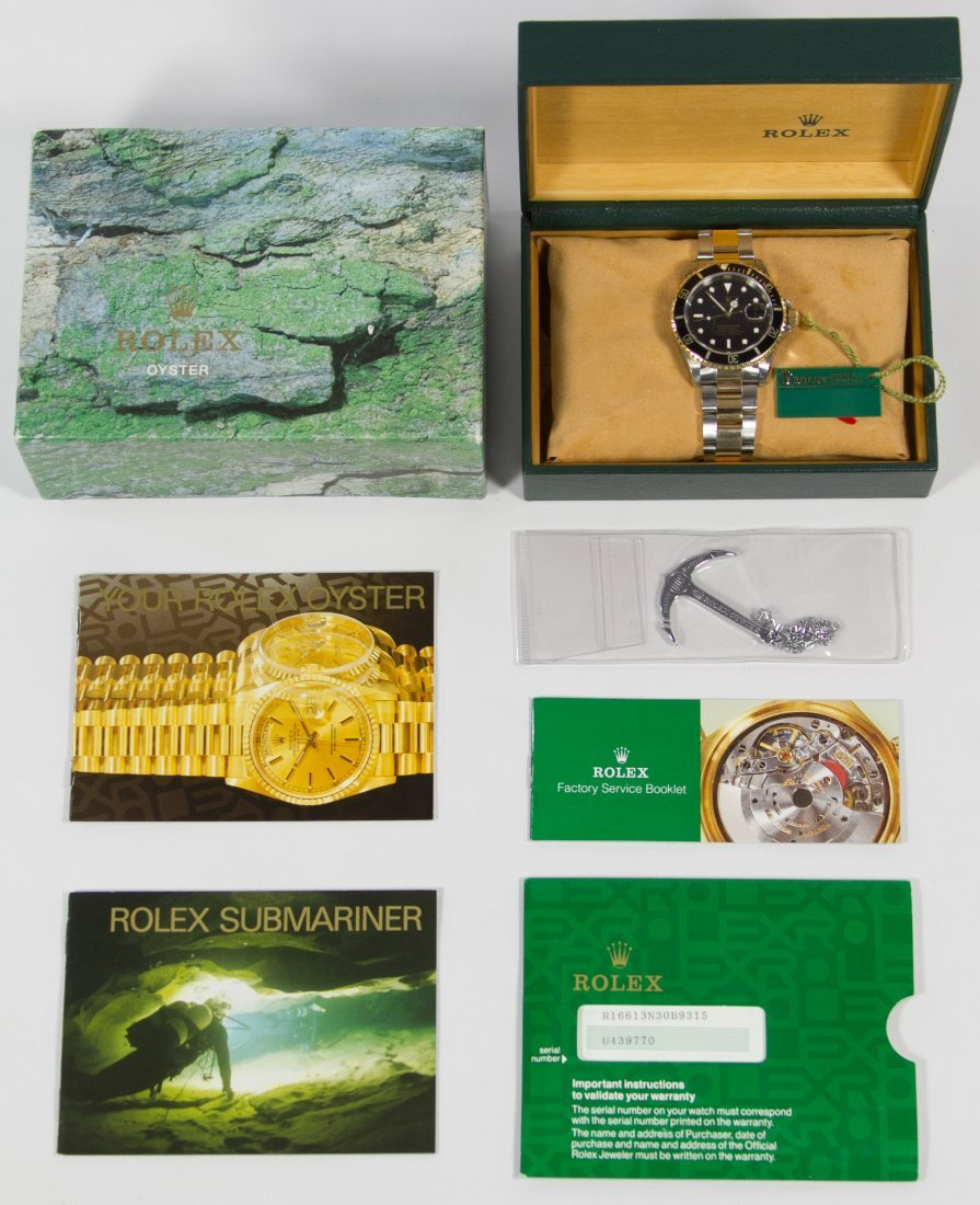 Rolex Oyster Wrist Watch (Serial #U439770)