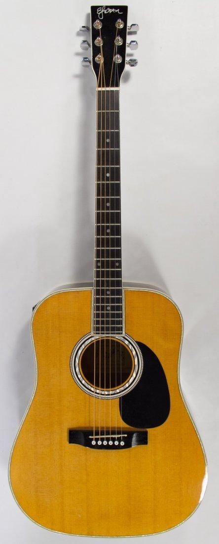 model al 100 electric acoustic guitar