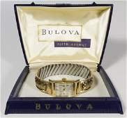 Bulova 14k Gold Cased Wrist Watch