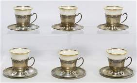Frank M Whiting  Co Sterling Silver DemiTasse Cup