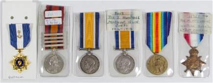 World War I Identified British Military Medal