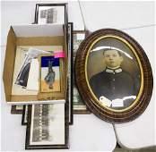 World War I and II Soldier Photograph Assortment