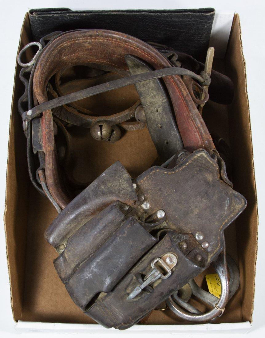 Utility Worker Leather Belt by W.M. Bashlin & Co.