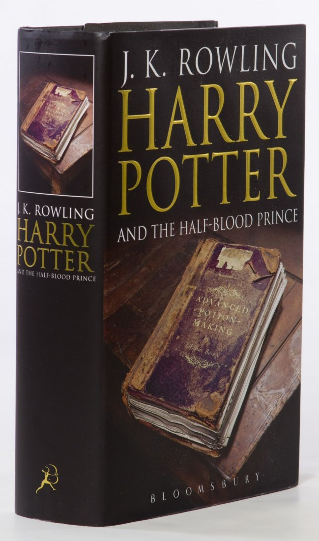jk rowling harry potter and the half blood prince
