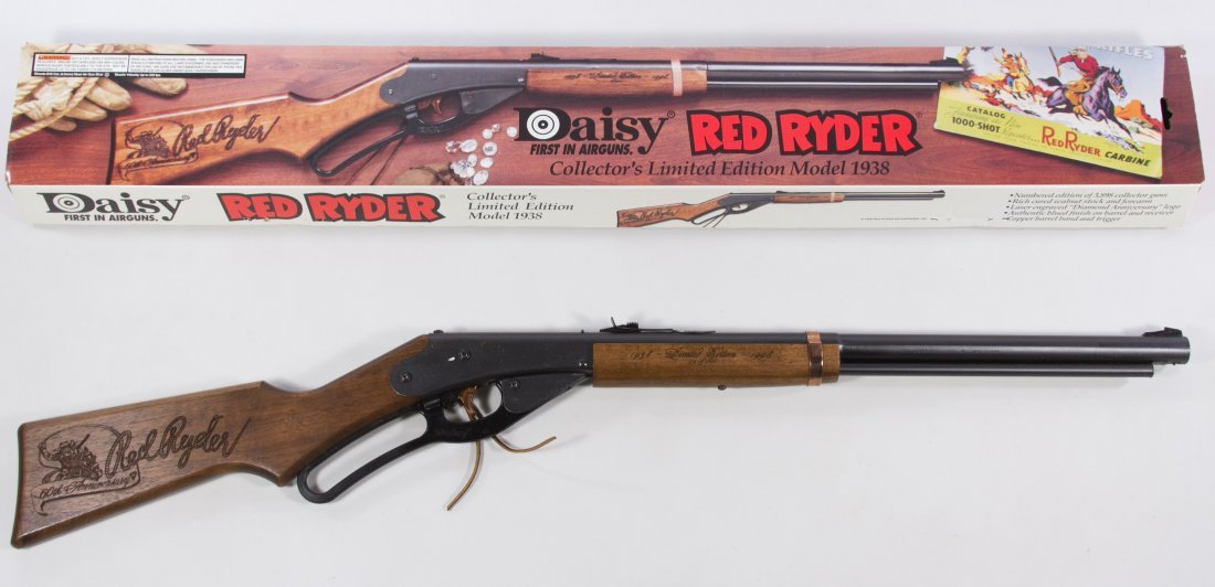 Daisy Limited Edition Model 1938 Red Ryder BB Gun