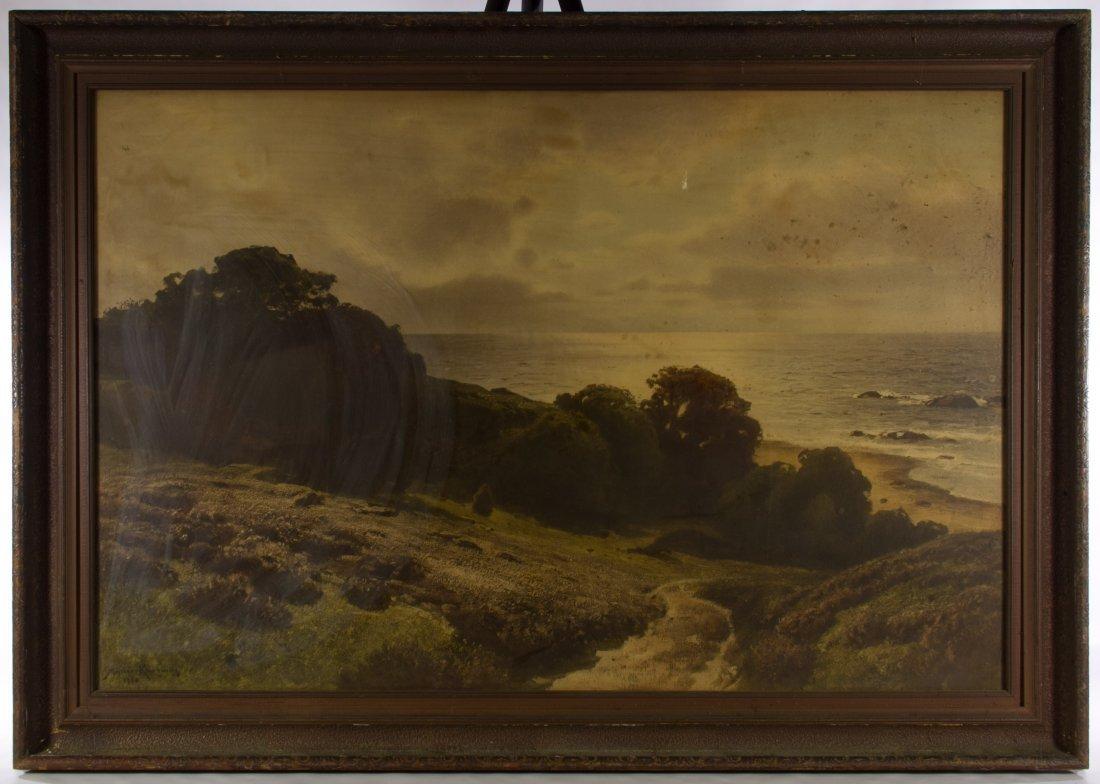 Conrad Muller Kurzwelly (German, 1855-1914) 'Seascape'