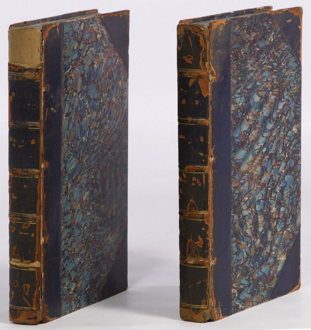 Herman Melville 'White Jacket' Two-Volume Book Set 1853