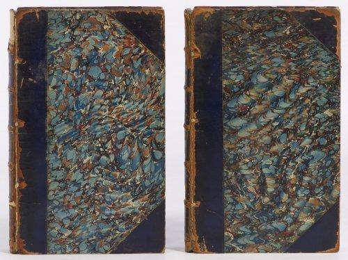 Herman Melville 'White Jacket' Two-Volume Book Set 1853 - 2
