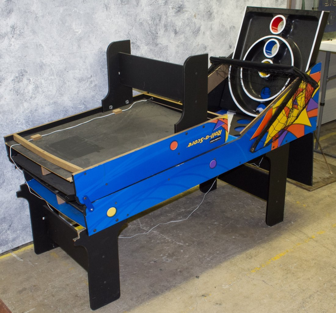 Skee-Ball 'Roll A Score' Machine by Harvard