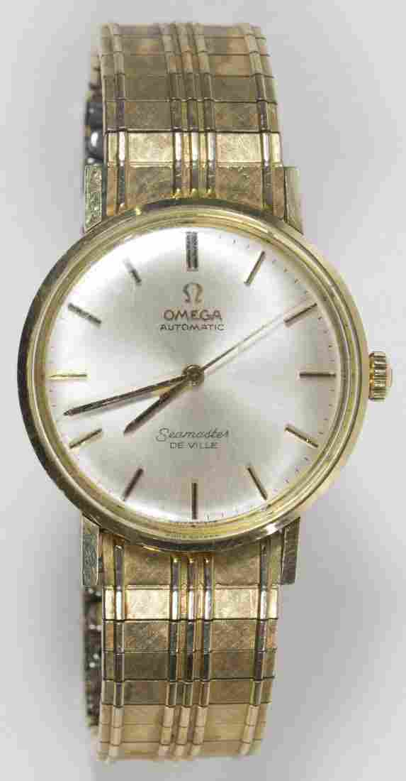 Omega 14k Gold Cased Automatic Seamaster de Ville Watch