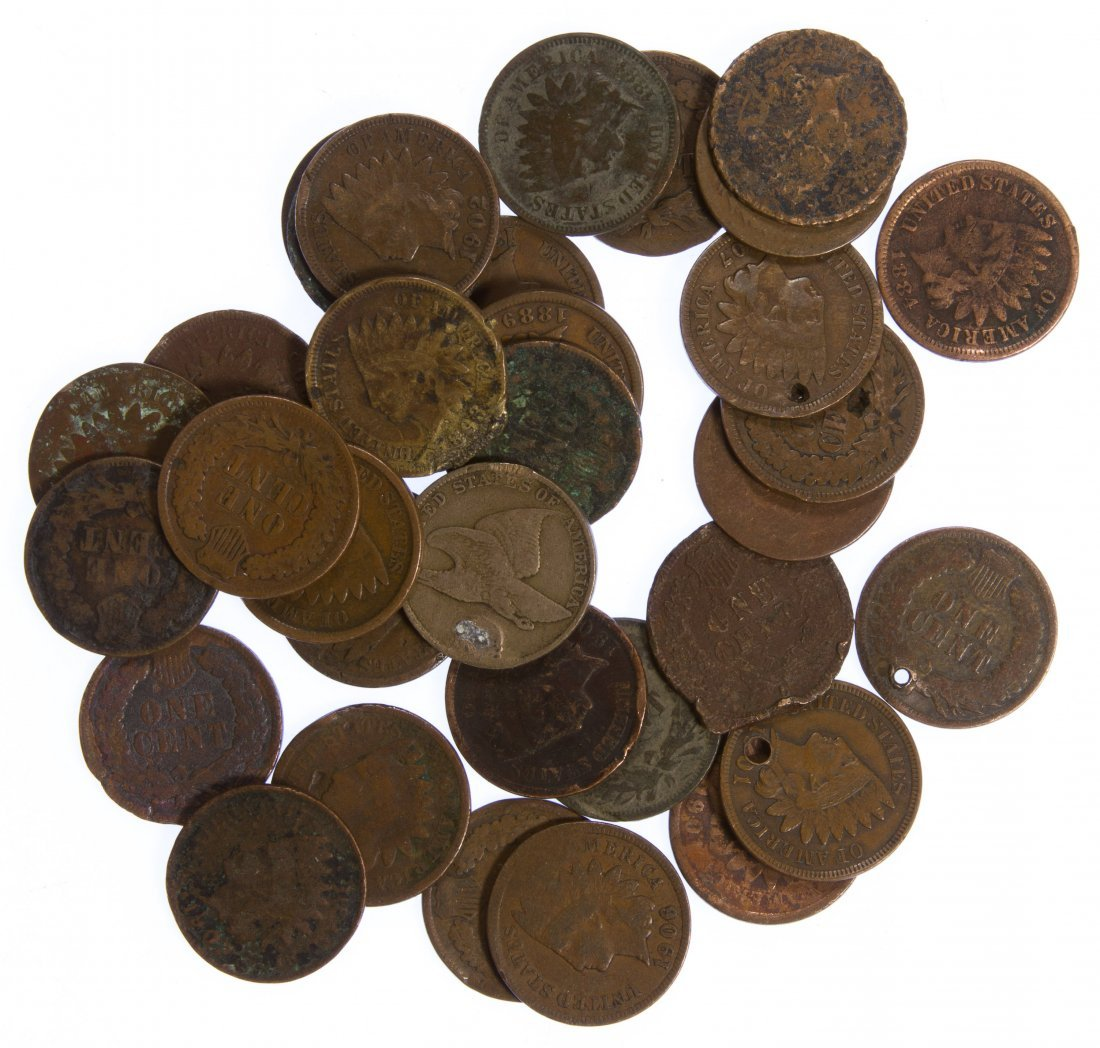 Indian Head 1c Assortment
