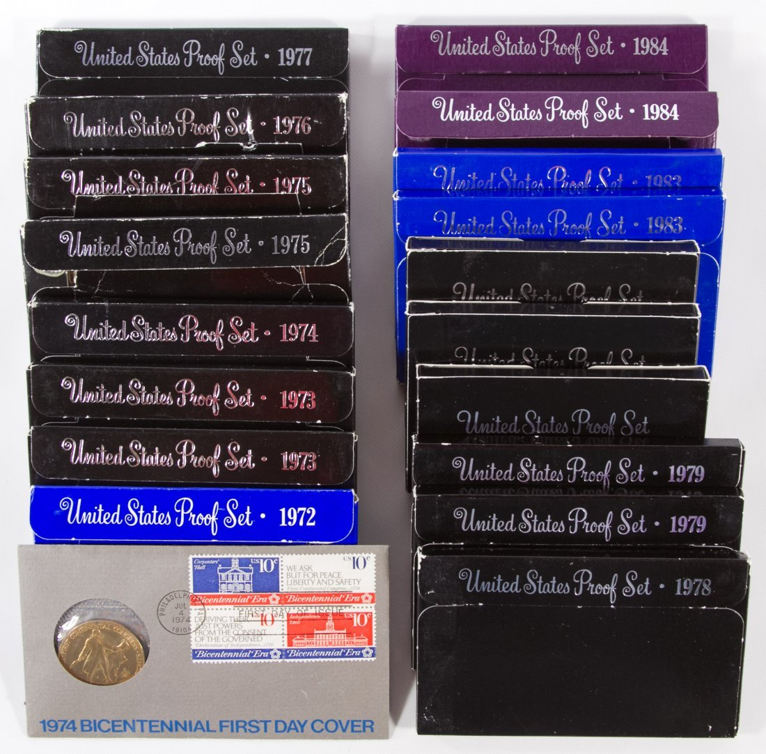 US Proof and Year Set Assortment