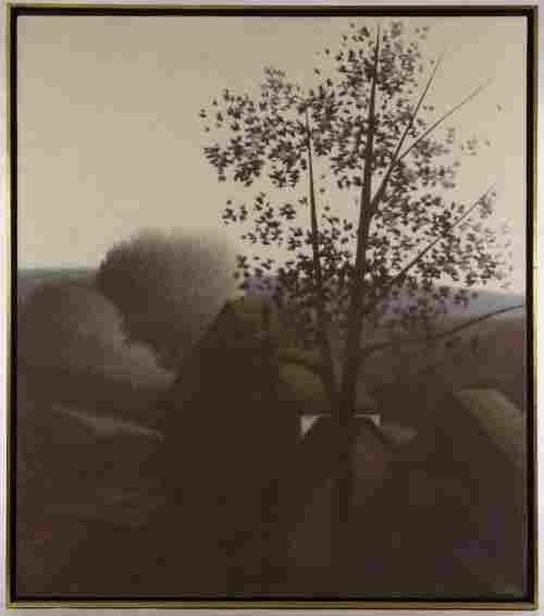 Robert Kipniss (American, b.1931) 'Early Light' Oil on