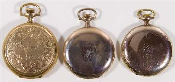 Elgin Gold Filled Full Hunter Case Pocket Watch