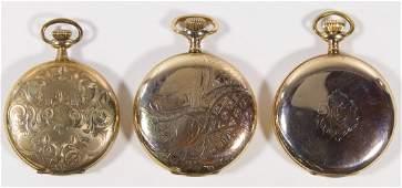 Gold Filled Full Hunter Case Pocket Watch Assortment