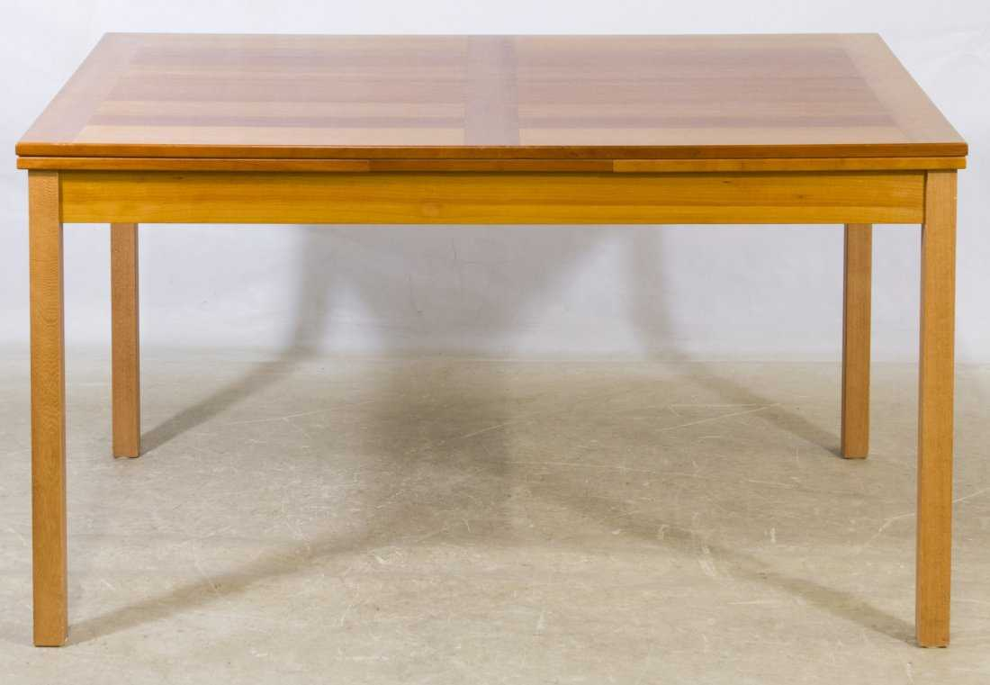 Danish Teak Dining Table By Ansager Mobler