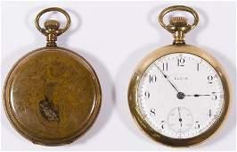 Elgin Gold Filled Pocket Watch Assortment