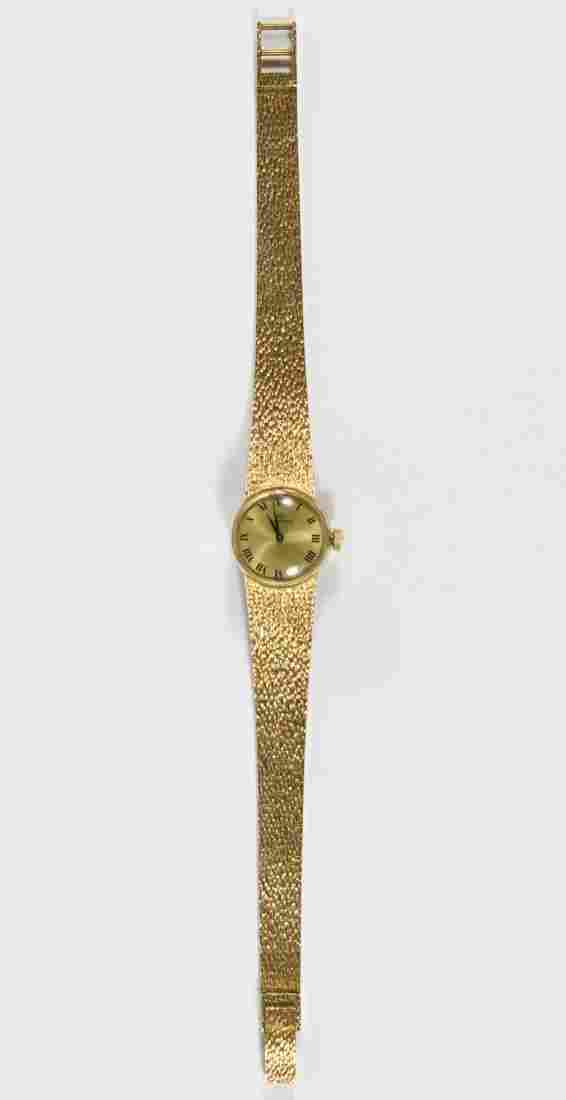 Movado 14k Gold Case and Band Wrist Watch
