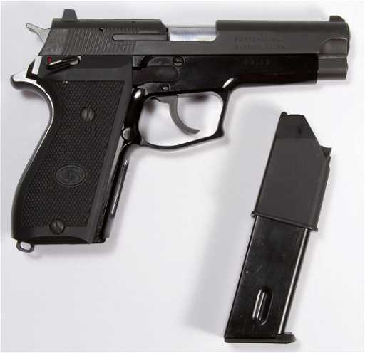 Daewoo DP51 9mm Parabellum Automatic Pistol (Serial