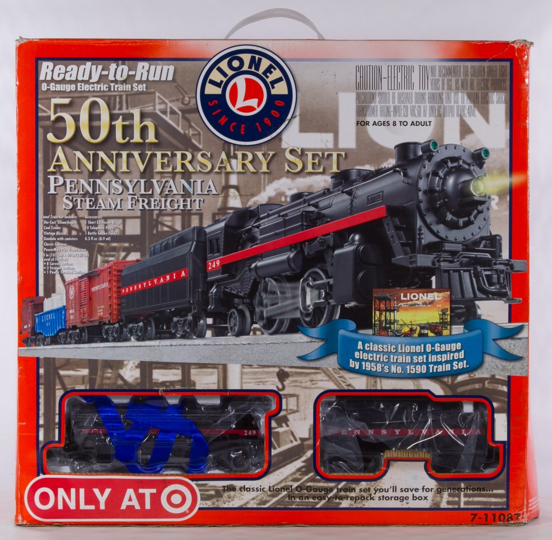 Lionel O Gauge 50th Anniversary Model Toy Train 7 11087