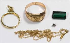 10k Gold School Ring