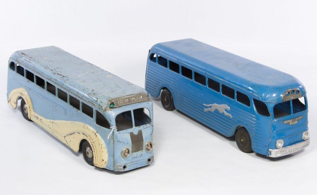 Greyhound Pressed Steel Buses