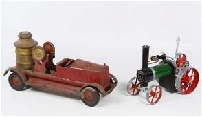 Turner Toys Fire Engine Pump Truck