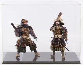 Japanese Samurai Dolls