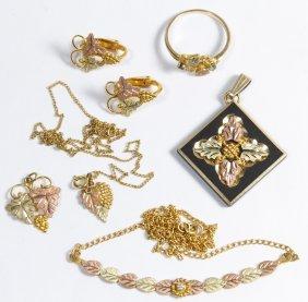 10k Black Hills Gold Jewelry Assortment
