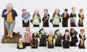 Royal Doulton 'charles Dickens' Miniature Figurine