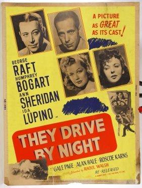 Humphrey Bogart Movie Poster And Lobby Card Assortment