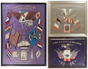 Phillipine War Embroidered Memorials