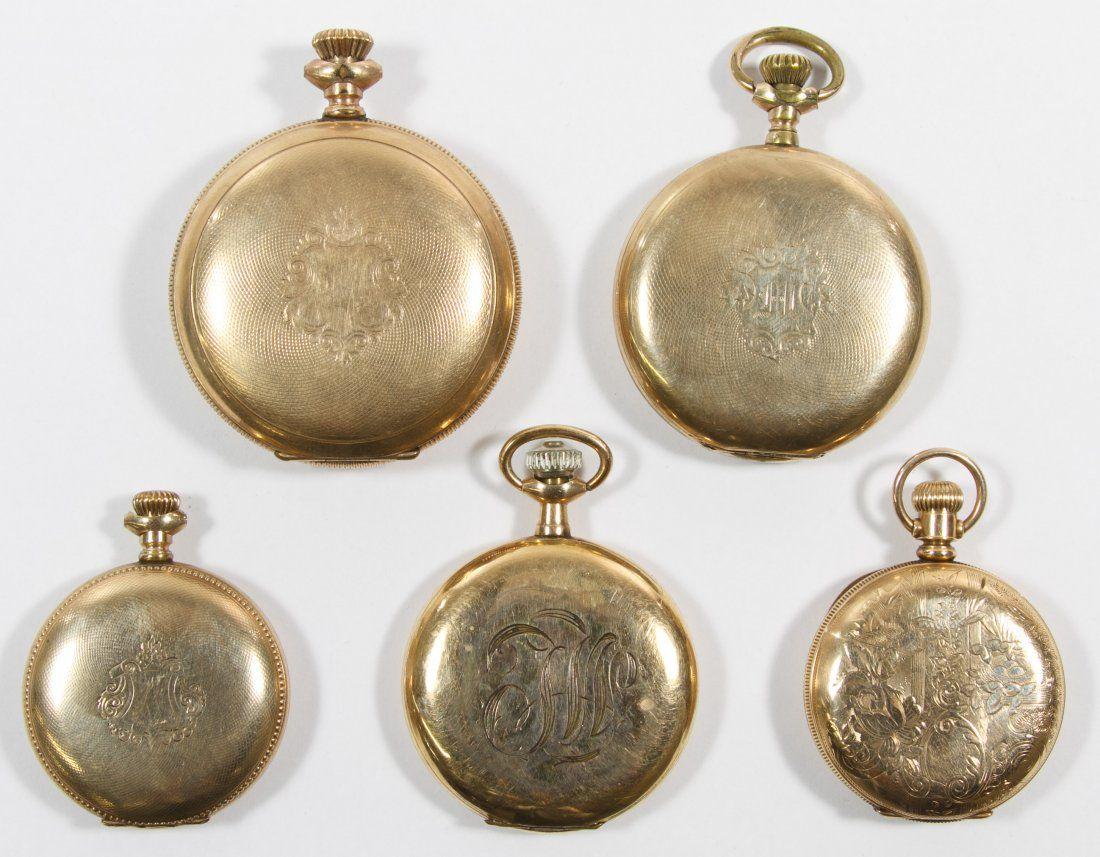Gold Filled Hunter Case Pocket Watch Assortment