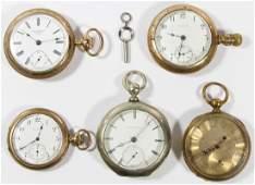 Open Face Pocket Watch Assortment