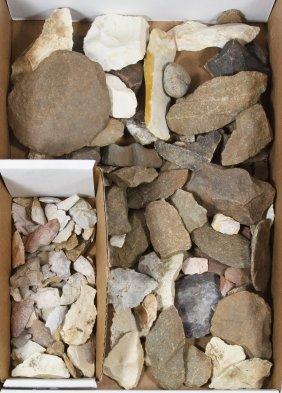 Arrowhead And Pottery Shard Assortment