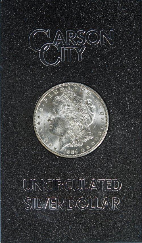 1884-CC $1 GSA Unc.