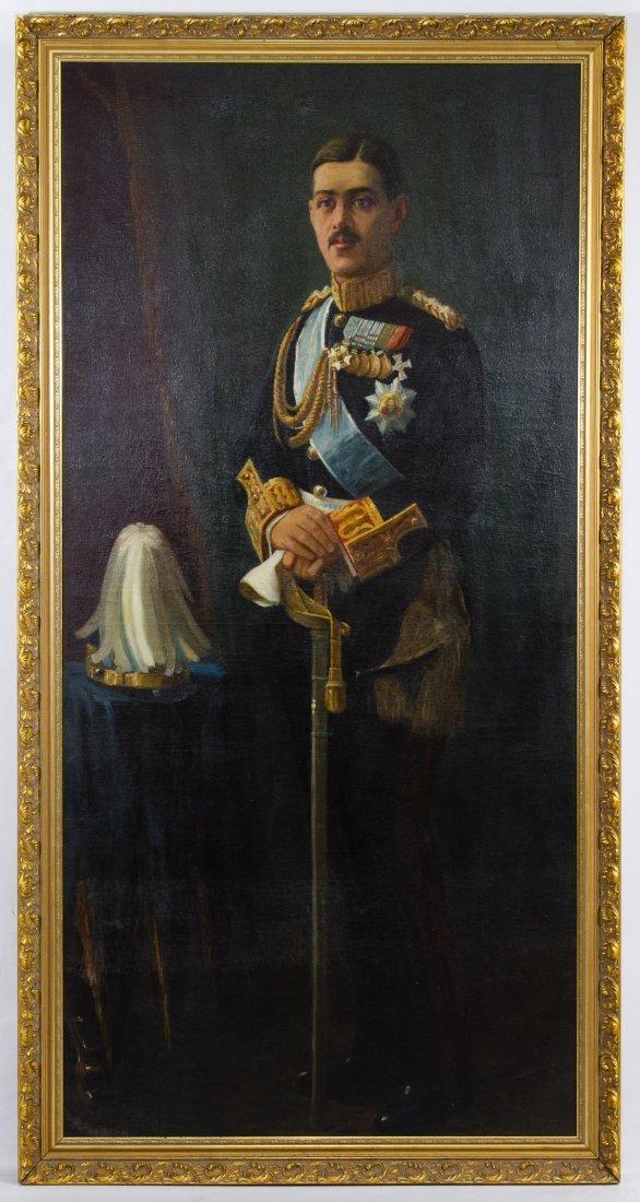 I. Voloudiakes (Greek, 20th Century) 'King Alexander of