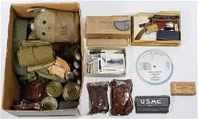 World War II Era US Military Assortment