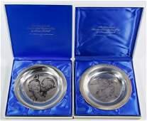 Franklin Mint Sterling Silver Plate Assortment