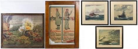 World War I and II Era Print and Photograph Assortment