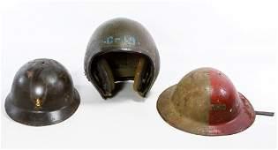 World War II Era Military Helmets