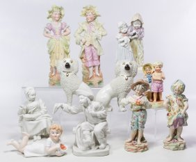 William Kent Staffordshire Poodle Figurines
